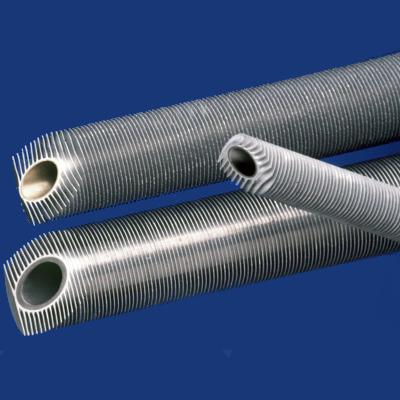 Спирально-оребренные трубы.